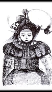 Drawing by Ella Blame