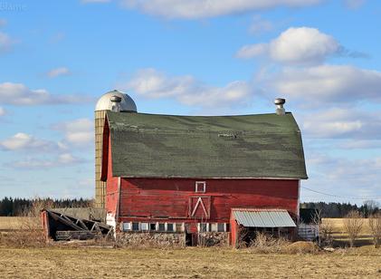 Farmland and Kettle Moraine