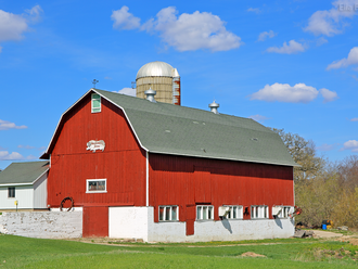 Barns and Fields