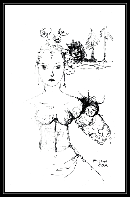 Woman and Trolls