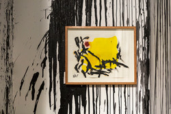 Installation view - Following the footsteps of Van Gogh, Miro and the month of August 1, 2, 3, 4, 5,