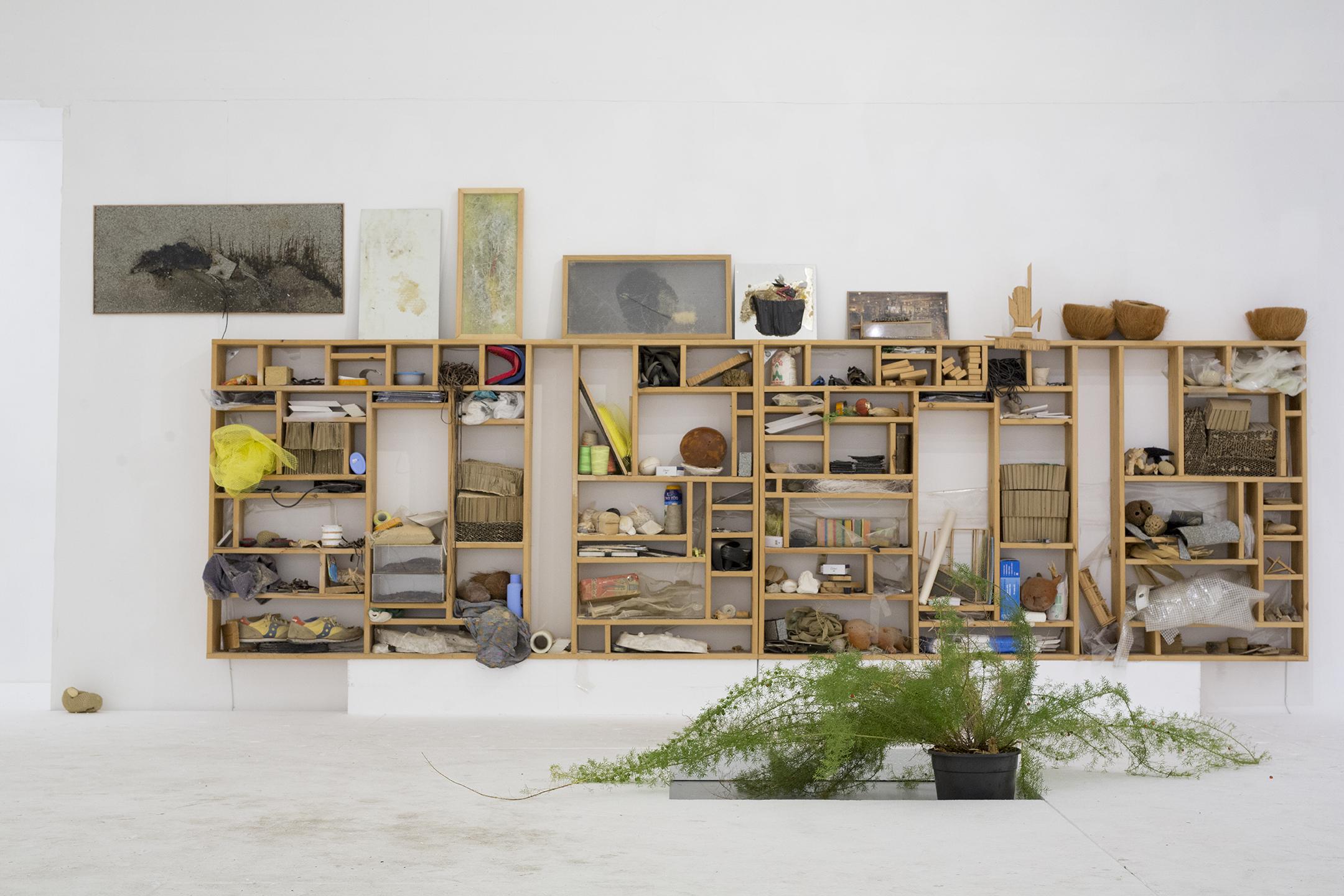 ספריית חומרים, דימוי מתוך הסטודיו