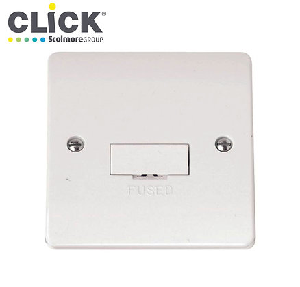 Click Scolmore CMA650 13A Unswitched Fused Spur