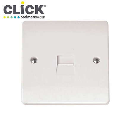 Click Scolmore CMA119 1 Gang Master Telephone Outlet