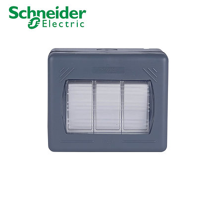 Schneider GWP1632 3 Gang 2 Way Switch IP55