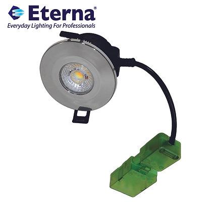 Eterna IFIRE 8W IP65 CCT Downlight Polished Chrome