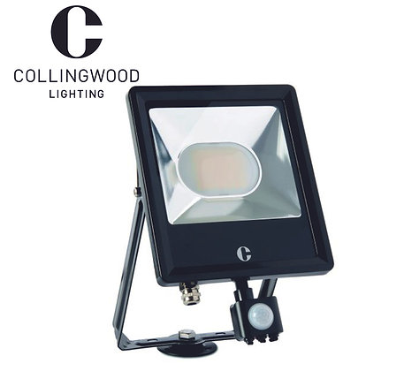 Collingwood 50W Colour Switchable LED Floodlight c/w PIR IP44