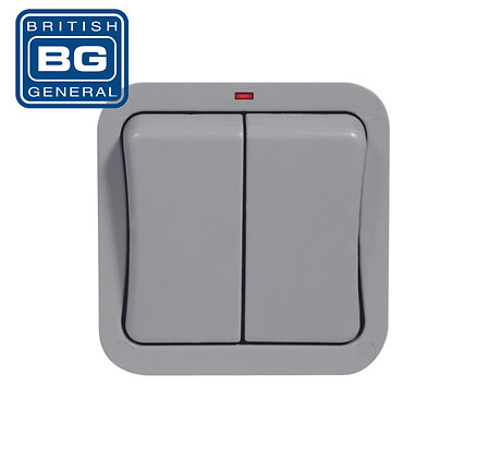 BG WP42 2 Gang 2 Way Switch IP66