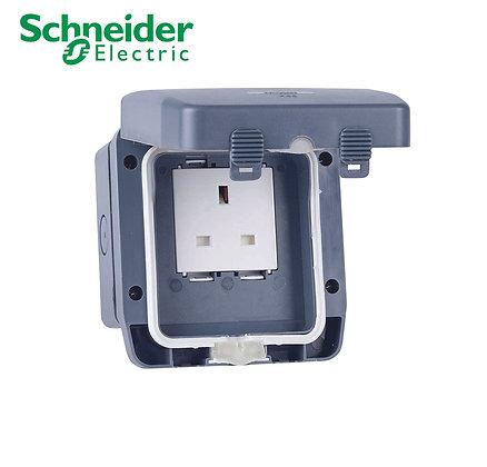 Schneider GWPIU3050 1 Gang Switched Socket IP66