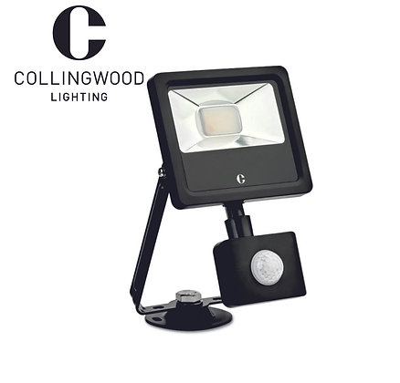 Collingwood 10W Colour Switchable LED Floodlight c/w PIR IP44