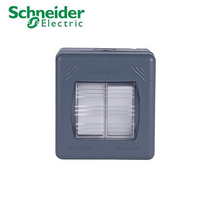 Schneider GWP1622 2 Gang 2 Way Switch IP55