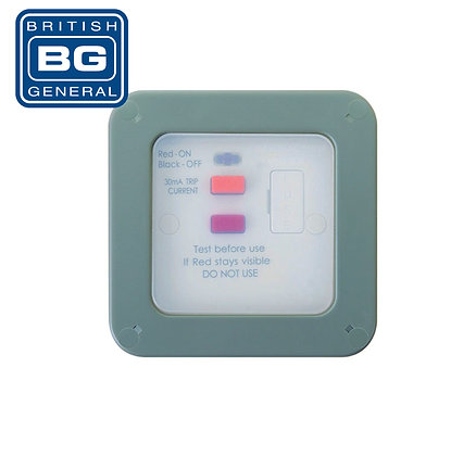 BG WP55RCD Switched Fused RCD Connection Unit IP66