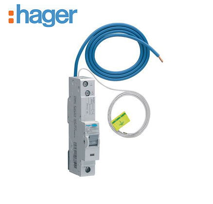 Hager ADA132U 32A 30mA 10kA Single Phase B Type RCBO