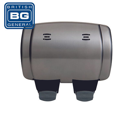 BG WP22 2 Gang Switched Socket IP66