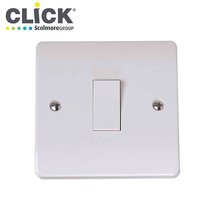 Click Scolmore CMA025 1 Gang Intermediate Switch