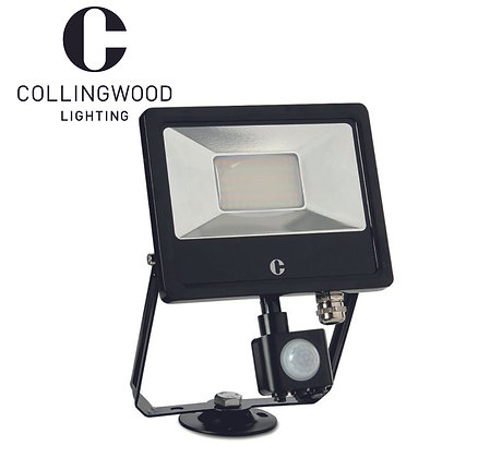 Collingwood 20W Colour Switchable LED Floodlight c/w PIR IP44