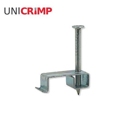 UNICRIMP 4 - 6mm² Metal T&E Cable Clips (Box of 100)