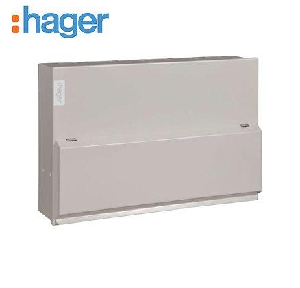 Hager VML995H 10 Way Dual RCD18th Edition Board