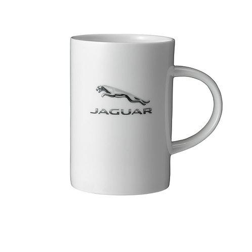 Jaguar Tasse (weiss)