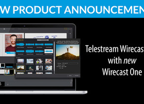 New Product Announcement - Wirecast One