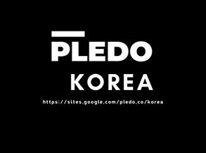 PLEDO's Korean version website opened