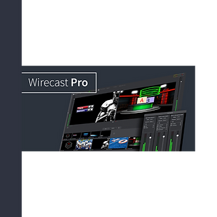 Wircast, live encoding software