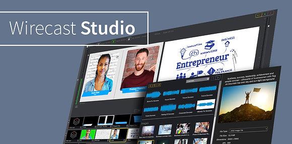 Wirecast Studio for Windows
