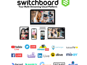 Switchboard Live, a multi-streaming cloud service, scheduled to be launched in South Korea