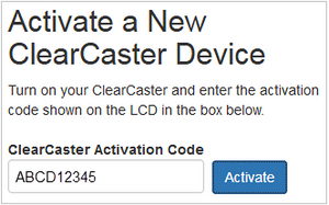 Registering Wowza ClearCaster with Wowza