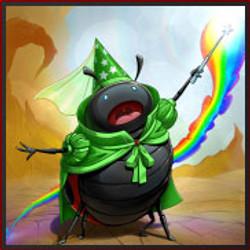 Lady bug fairy princess