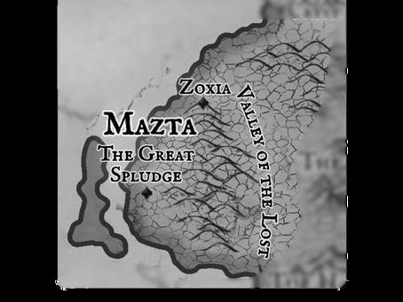 Mazta, Land of the Great Lizards