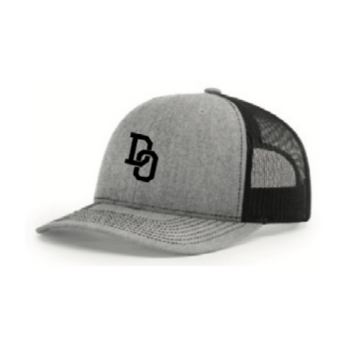 Fan Gear: DO Logo Richardson Trucker Hat Mesh 112