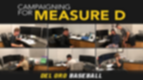 Del Oro Baseball_Campaigning for Measure