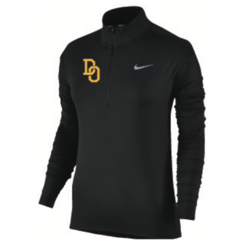 Women's Fan Gear: Nike Dri Fit Element 1/2 Zip