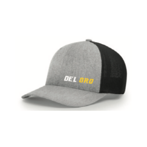 Fan Gear: Del Oro Wordmark Richardson Trucker Hat 110