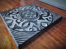 décor granit noir