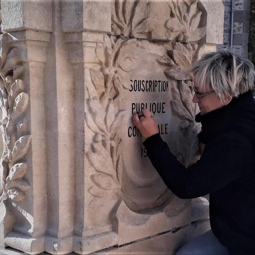 restauration monumen Saint Priest Taurio