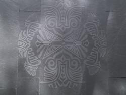 gravure sur ardoise