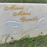 gravure sur marbre