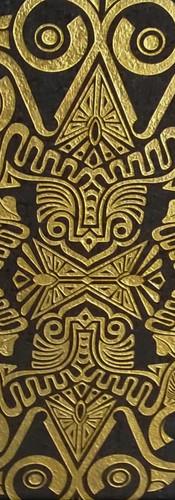 motif sablé doré à l'or fin