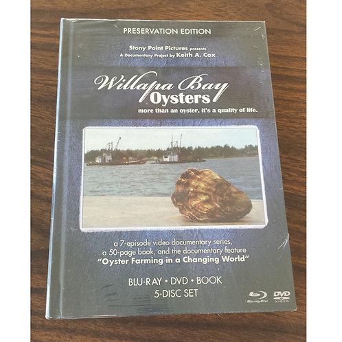 Willapa Bay Oysters DVD/Bluray Set