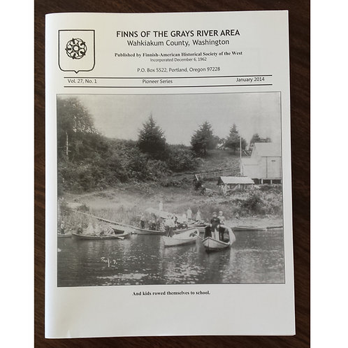 Finns of the Grays River Area