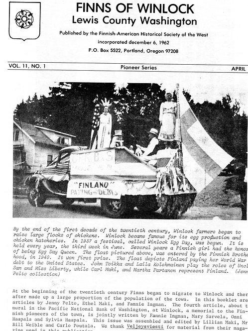 Finns of Winlock, Lewis County, Washington