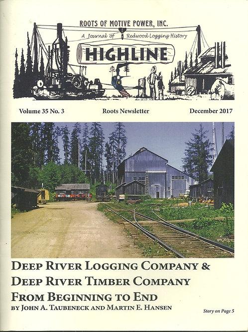 Deep River Logging Company History