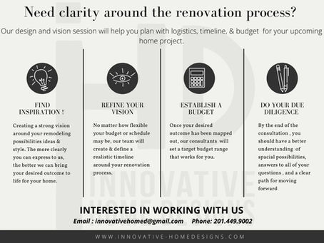 The Renovation Process!