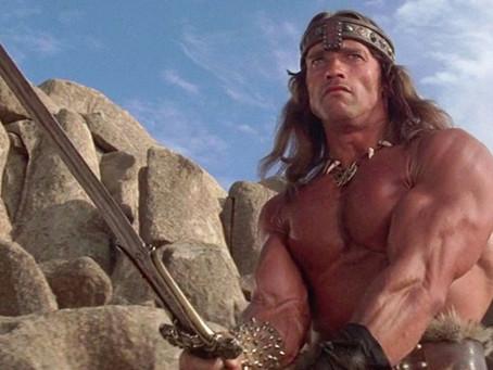 Arnold Schwarzenegger Channels Conan to Sell New Merch