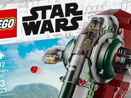 LEGO Boba Fett Starship Drops Slave I Moniker