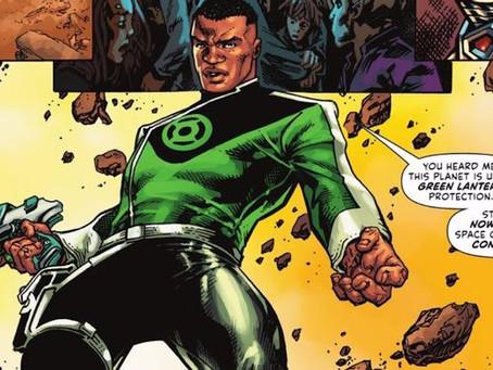 Green Lantern: John Stewart's New Costume Reveals the Corps' Style Icon