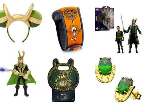 Disney Launches Loki Merch With Limited Edition Collectibles