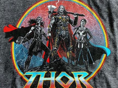 Thor 4 Merch Reveals Jane Foster's God of Thunder